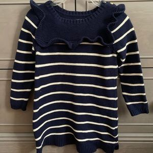 GAP baby girl knitted sweater dress 6-12 months
